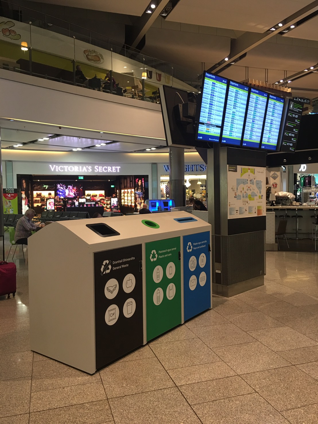 Smart IoT-based bins at Dublin Airport in Ireland