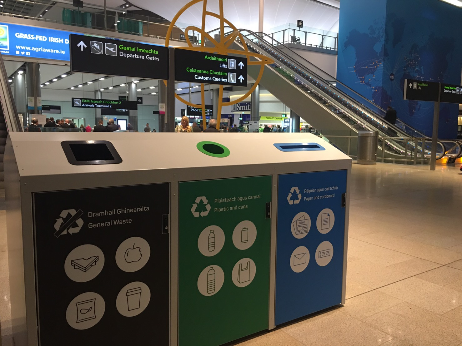 Dublin Airport increases waste collection efficiency by 90% with Ecube Labs technology