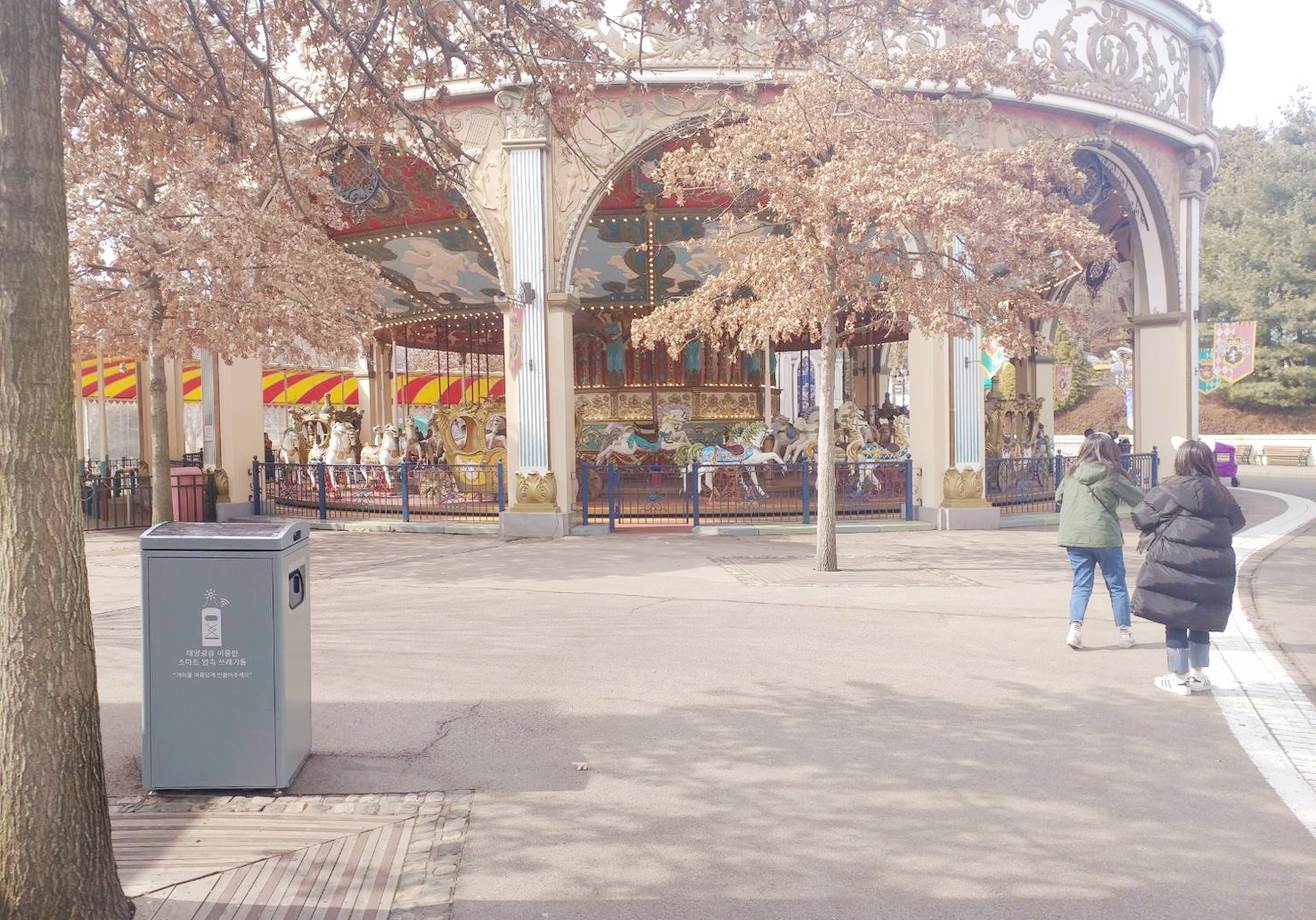 Korea's Largest Theme Park Adopts Ecube's Smart Waste Management System