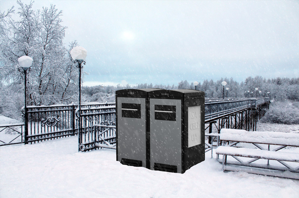 Worried about the weatherability of the CleanCUBE or CleanFLEX? You shouldn't!