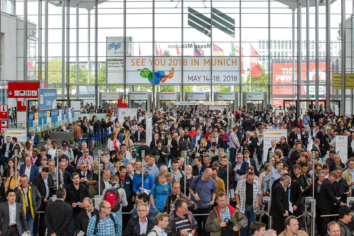 독일 뮌헨에서 열리는 IFAT 2018 전시회 이큐브랩 부스에 방문하세요