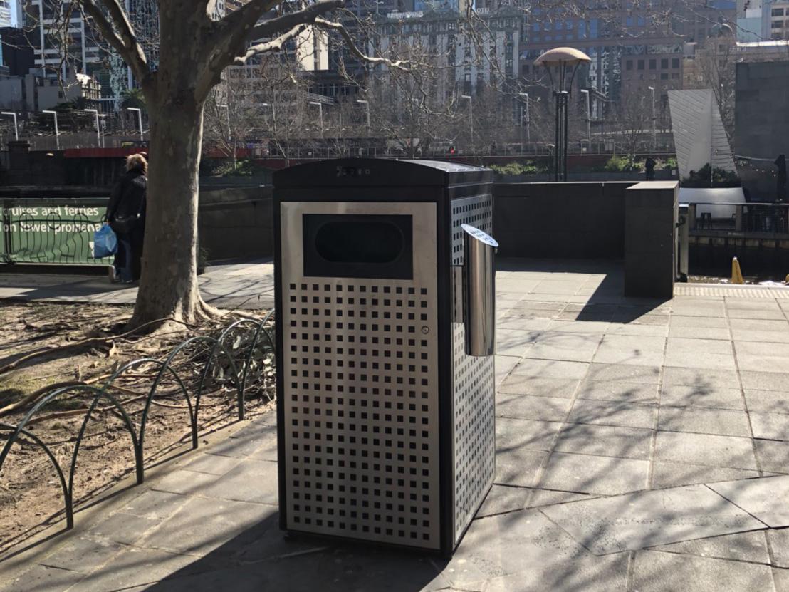 Melbourne Combats Littering with Ecube's Smart Bins